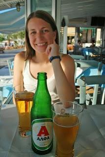 Pre-Dinner Drinks in Chania, Greece