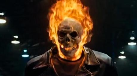 burning head ghost rider