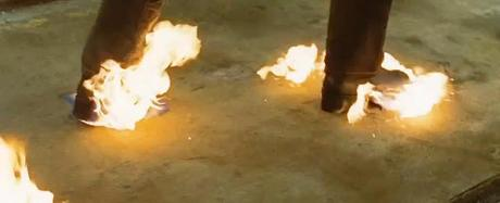 feet on fire ghost rider