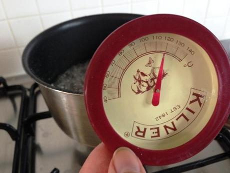 kilner sugar thermometer easy to use boiling to 120 degrees hard ball for italian meringue
