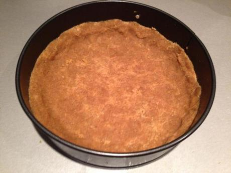 key lime pie recipe low fat crushed biscuit base in loose bottomed tin flavoured with ginger