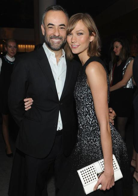 Francisco Costa and Karlie Kloss