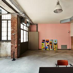 MSGM Fashion Headquarters in a Former Blacksmith's Workshop by Fabio Ferrillo