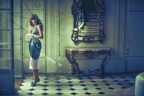 Lou Doillon by Serge Leblon for Vogue Turkey November 2013