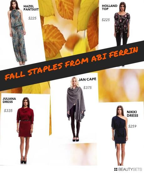 Beautysets - Abi Ferrin Fall Fashions
