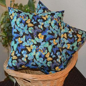 Photo Butterfly Accent or Sofa Pillow