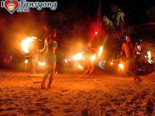 "The Hot Entertainment with ""Boracay Phoenix Fire Dancers"""