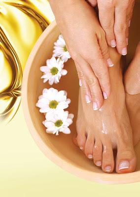 Pamper Your Hands and Feet with Gold