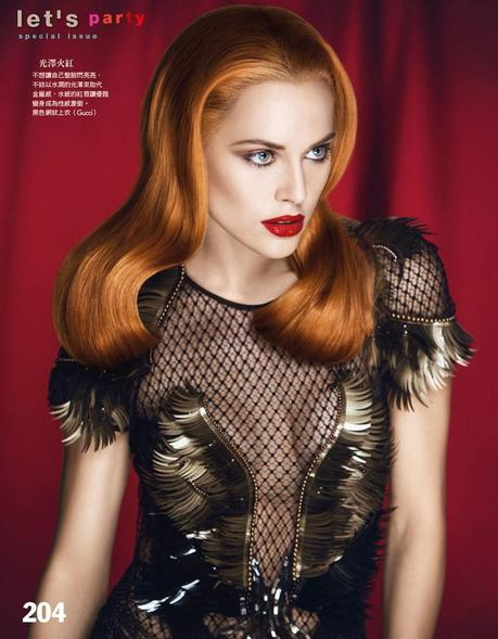 Lana Zakocela by Yossi Michaeli for Vogue Taiwan November 2013