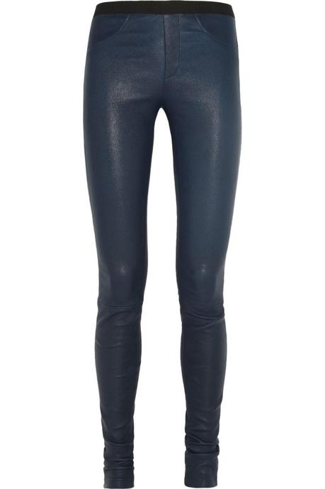HELMUT LANG Stretch-leather leggings €840