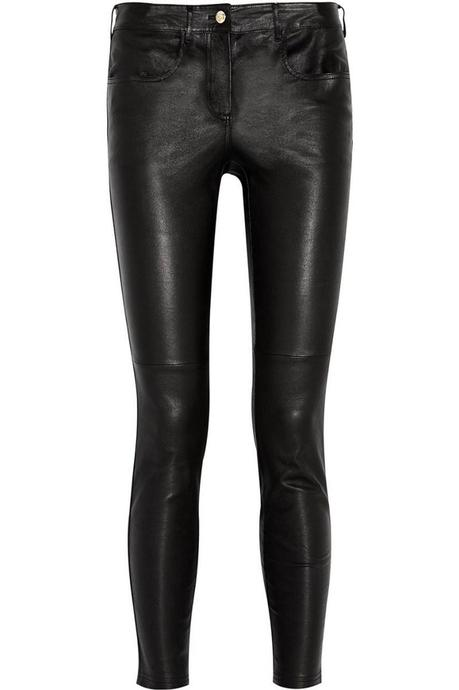 GIVENCHY Black leather pants €1,390