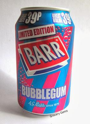 Review: Barr Bubblegum Drink - no longer Limited Edition