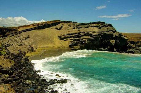 Papakolea Green Sand Beach Hawaii Big Island