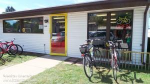 Chesterton Bicycle Station in Chesterton, Indiana