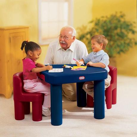 Little Tikes Large Table & Chairs