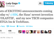 Lady Gaga Announced Twitter Collaboration with