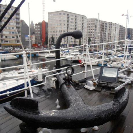 Anchor at the Three Master Mercator in Ostend