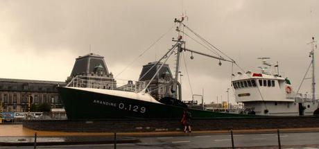 Amandine, an Icelandic trawler, now a museum