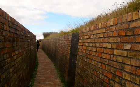 2km of trenches at the Atlantic Wall