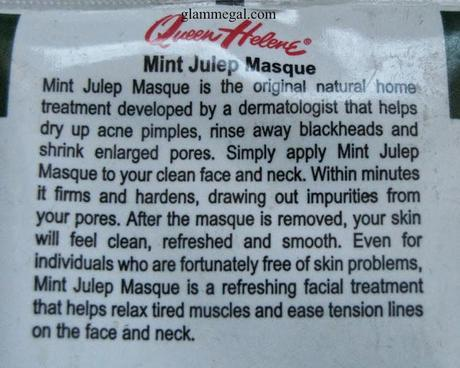QUEEN HELENE MINT JULEP MASQUE : THE BEST THERE IS REVIEW