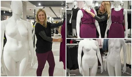 debenhams plus size mannequins - paperblog