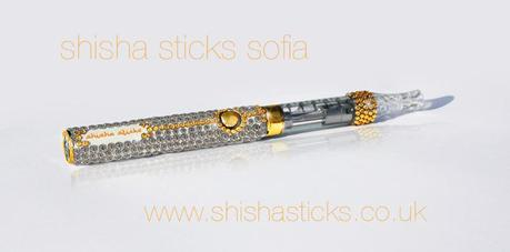 Shisha Sticks Sofia $900000 blinged out e-cigarette