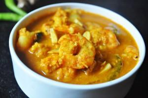 Coorgy Prawn curry