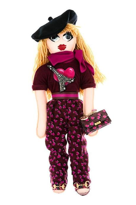 Gucci doll for UNICEF