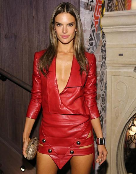 Alessandra Ambrosio attends the 2013 Victoria's Secret Fashion after party at TAO Downtown