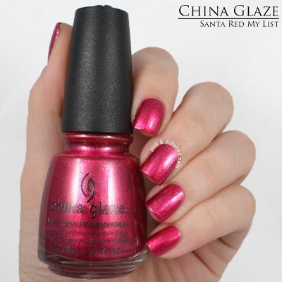 Swatch: China Glaze Happy HoliGlaze Holiday Collection 2013