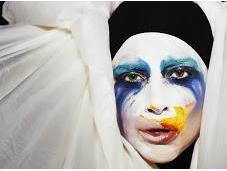 Face Behind Lady GaGa