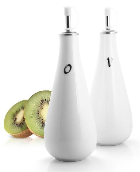 Porcelain Oil & Vinegar Drizzler Set