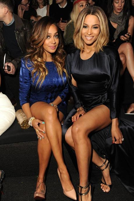 LaLa Anthony and Ciara Photo by Steve Eichner