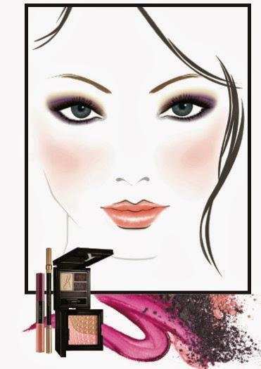 Amway Artistry Galaxy Trend Color Collection Moonlight Face Charts