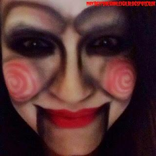 Halloween Makeup - Jigsaw From Saw - Paperblog
