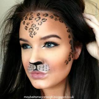 Halloween Makeup - Leopard - Paperblog