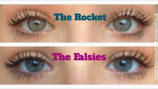 Maybelline The Rockets VS The Falsies