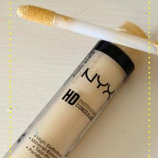 NYX HD Photogenic Concealer In Yellow
