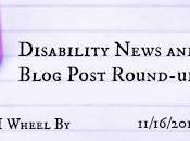 November Disability News Blog Post Round-up