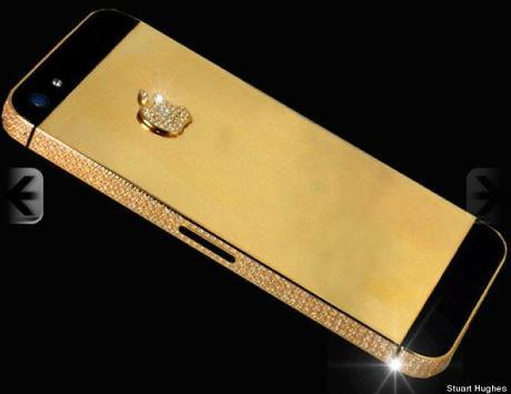 Stuart Hughes Gold iPhone