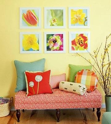 Decorating Blank Walls - Paperblog