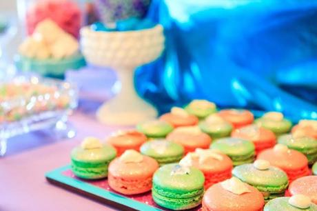 The Little Big Company Blog Party Feature: A Mermaid Party by Party Pony Designer Pinatas and Perfectly Sweet