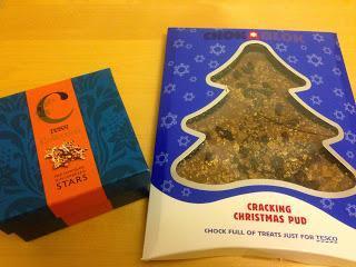 Review:Tesco Christmas Chocolates