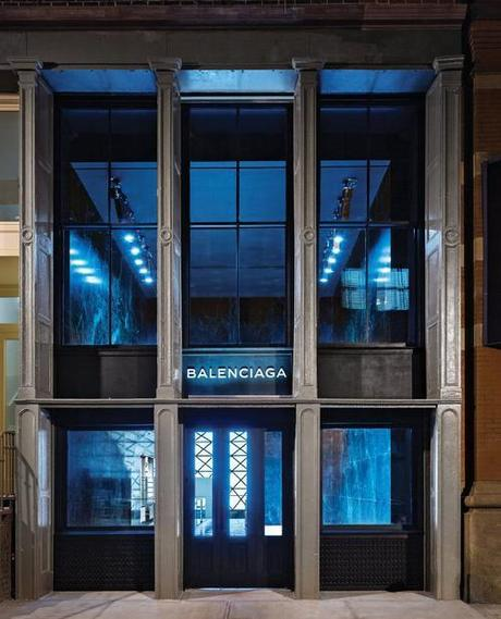 pictures balenciaga store in soho set to open on