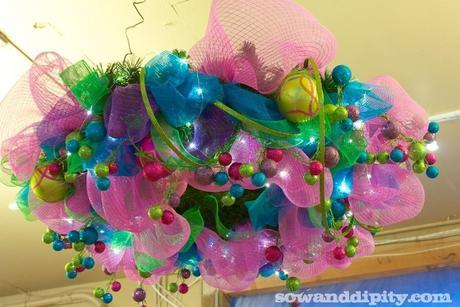 Horizontal Funky Wreath