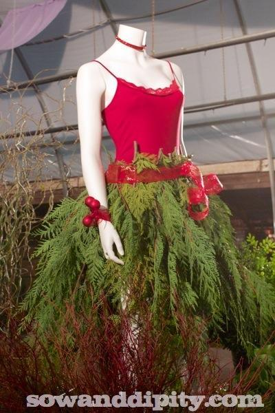 Hort Couture Christmas Dress