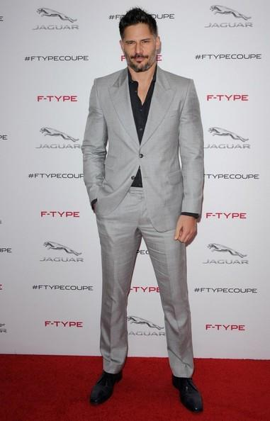 Joe Manganiello at Jaguar F-TYPE Coupe Launch Party Axelle Bauer Griffin 6