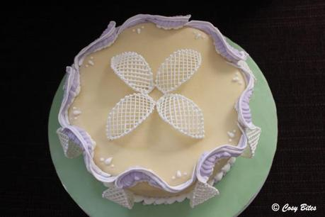 Royal Icing Piping and Trellis Pieces
