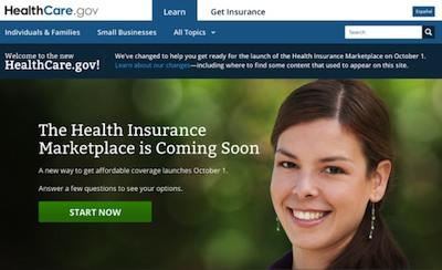 healthcare gov homepage Obamacare Sucks: But not for the reasons you think