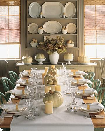 Thanksgiving Table Decorating Ideas